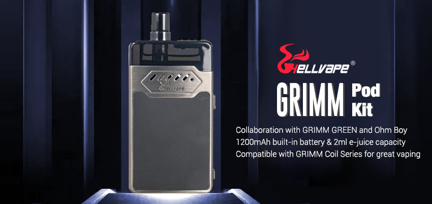 Hellvape GRIMM Pod Kit Banner