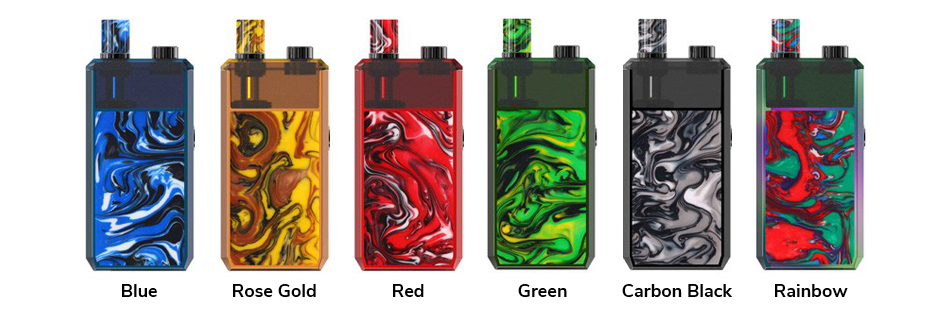 Magico Pod Vape Kit Colors