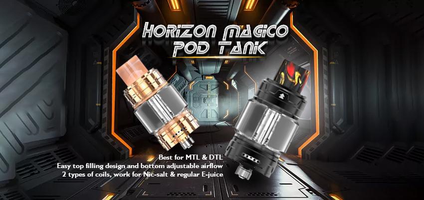 Horizon Magico Pod Tank Banner