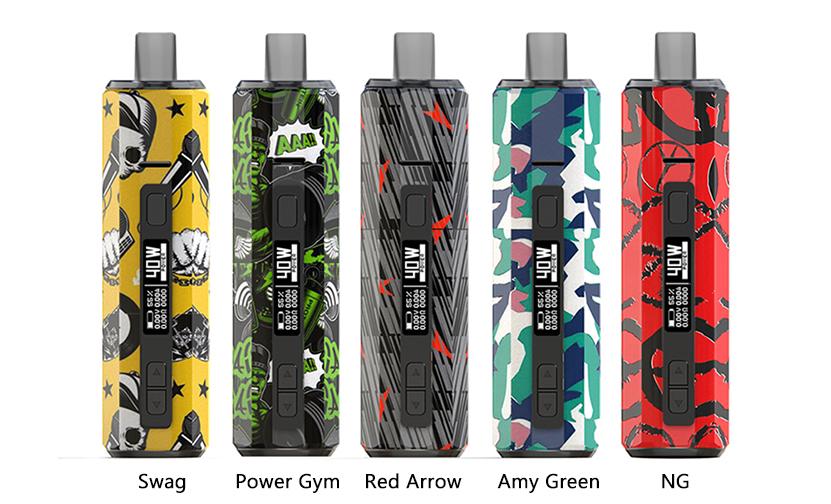 Hugo Vapor Boxer AIO Kit Colors