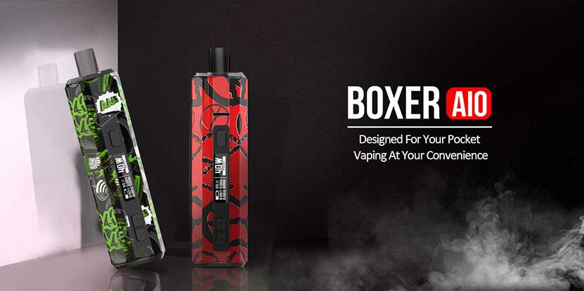 Hugo Vapor Boxer AIO Kit Feature 3
