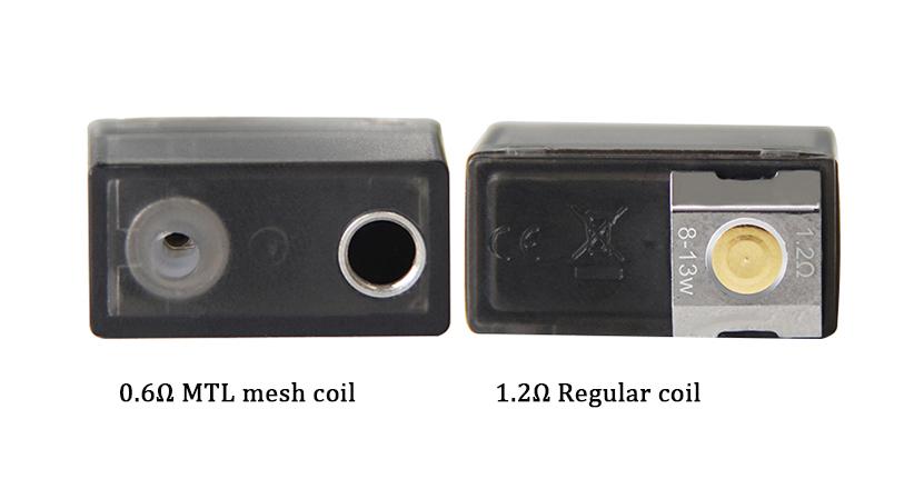 Hugo vapor kylin Pod Cartridge Types