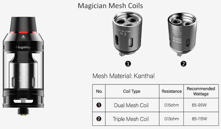 Hugsvape Magician Mesh Tank Feature 3