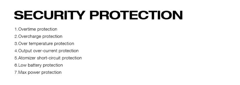 IJOY Captain 1500 Pod Mod Kit Protections