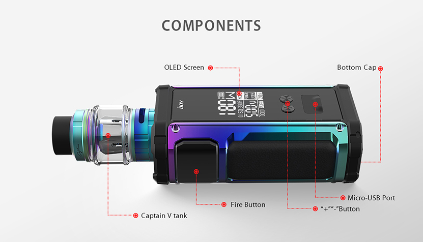 IJOY Captain 2 Kit Structure