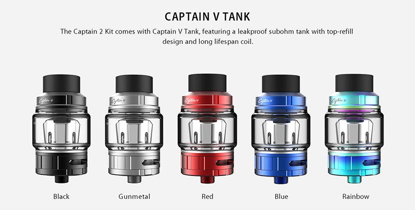 IJOY Captain 2 TC Box Mod Kit Tank
