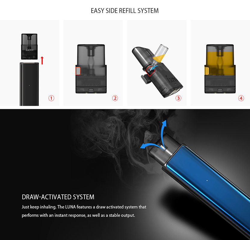 IJOY Luna Starter Kit Features 4