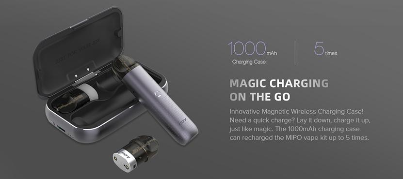 IJOY Mipo Pod Starter Kit Charging