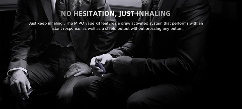 IJOY Mipo Pod Starter Kit Direct Inhaling