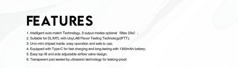 IJOY PikGo Kit Feature 3