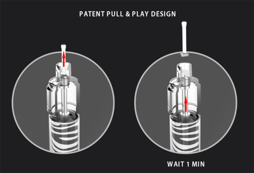 iJoy Lio Bee Lit Disposable Kit design