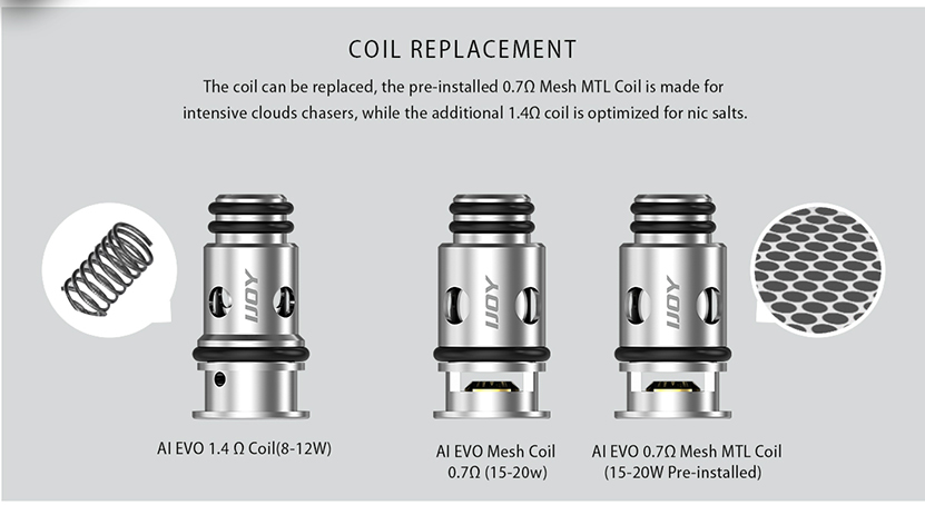 IJOY AI EVO Pod Coil Replacement