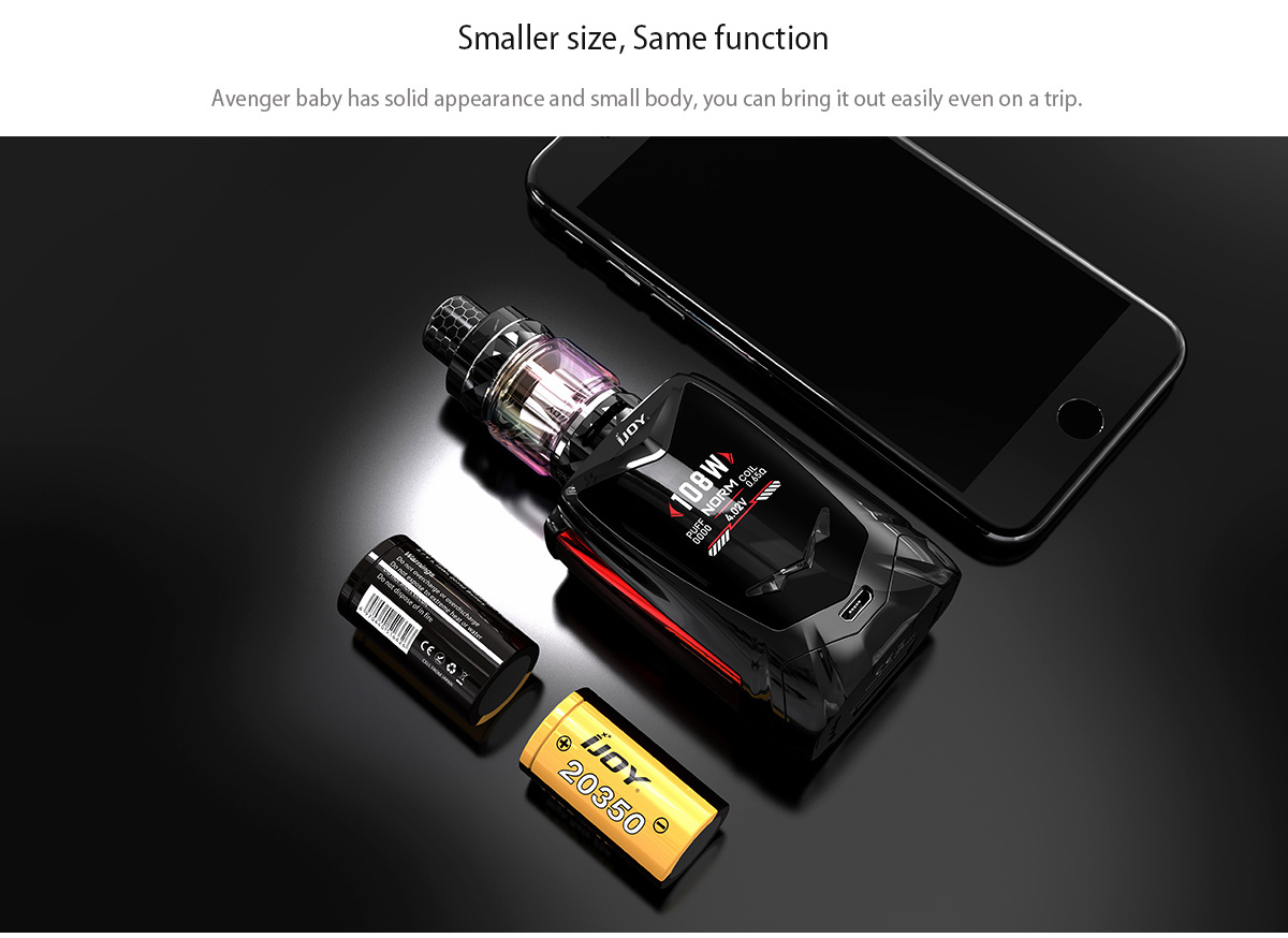 IJOY Avenger Baby Kit Feature 1