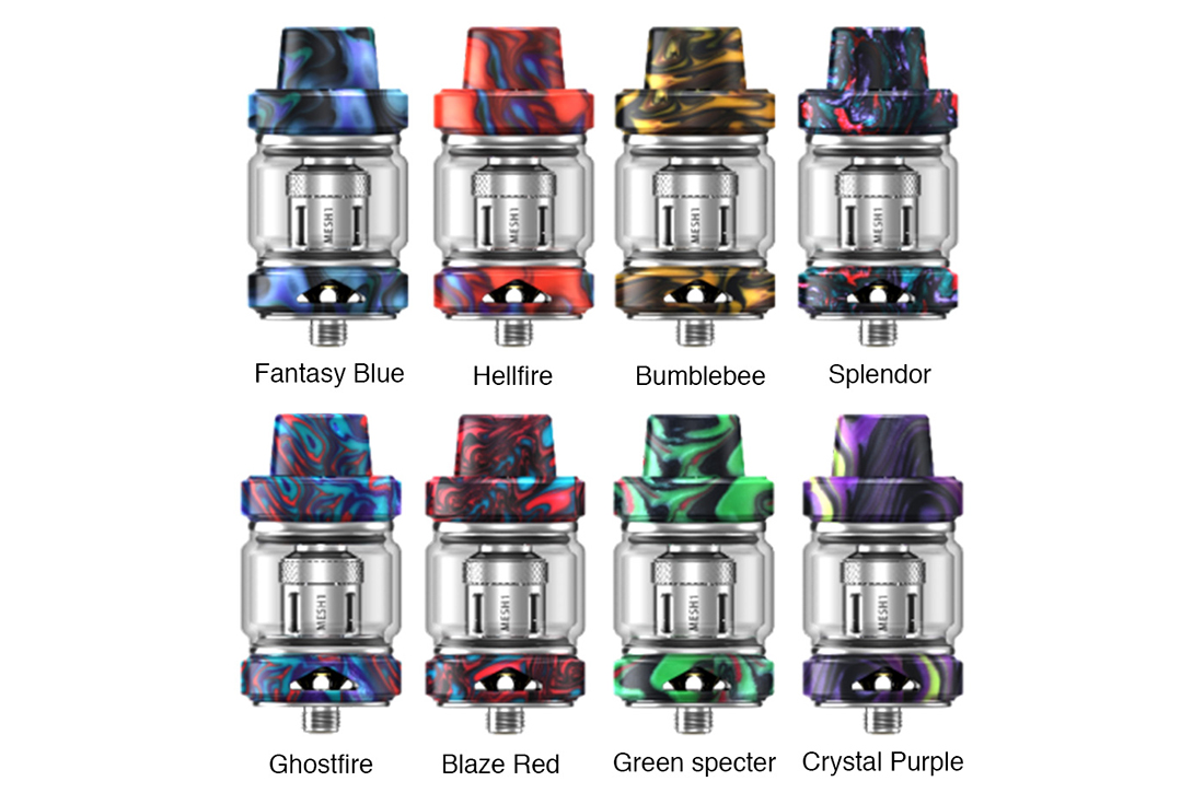 IJOY Captain Resin Tank Colors