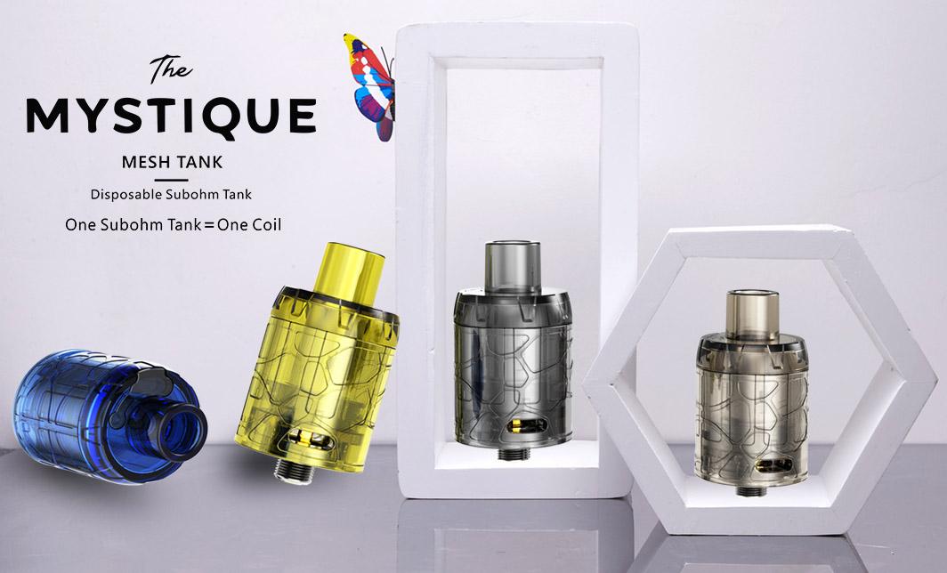 Mystique Mesh Disposable Subohm Tank Features 01