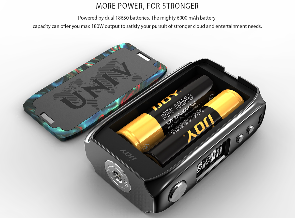 IJOY Shogun Univ Kit Features 7