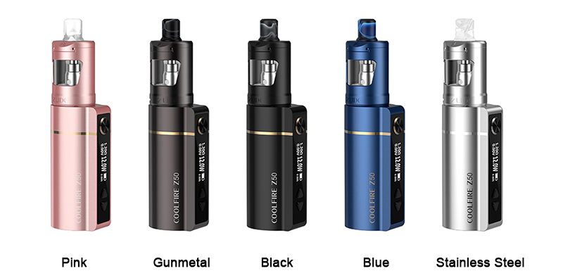 Innokin Coolfire Z50 Kit Colors