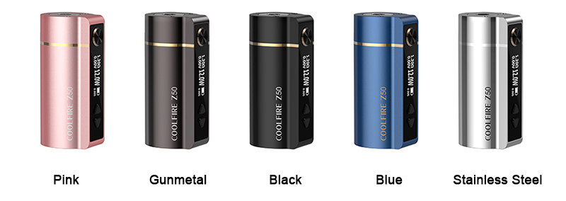Innokin Coolfire Z50 Mod Colors