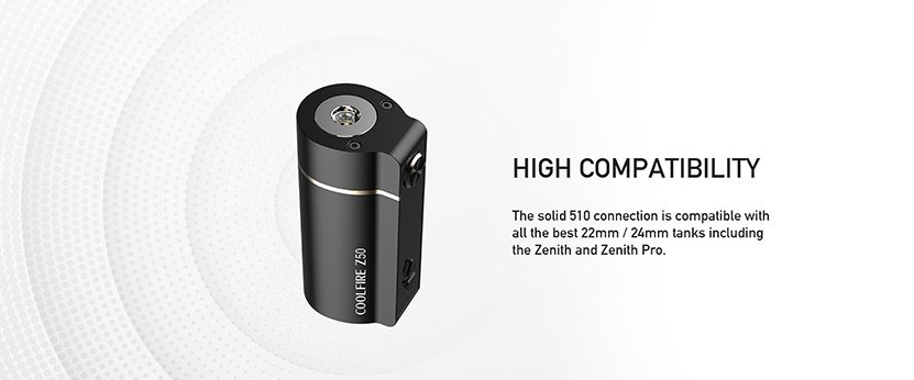 Innokin Coolfire Z50 Mod Feature 2