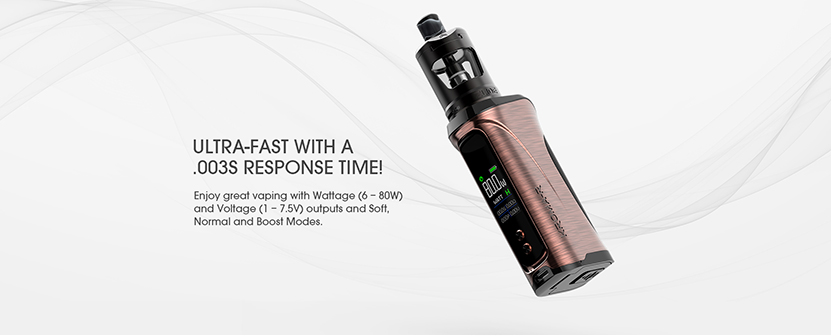 Innokin Kroma R Kit with MVP5 Ajax Tank Wattage