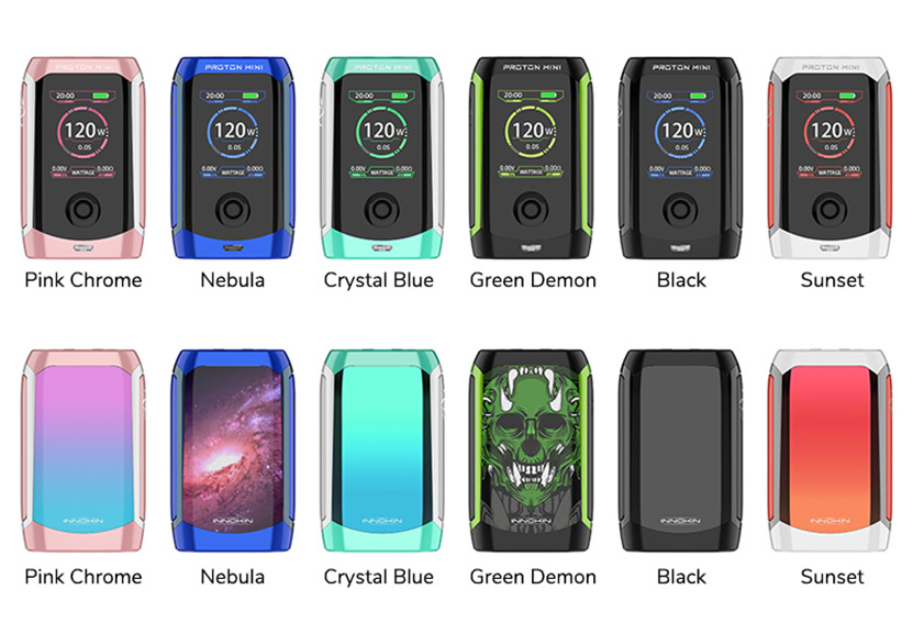 Innokin Proton Mini Battery Colors