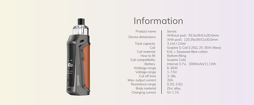 Innokin Sensis Kit Feature 10