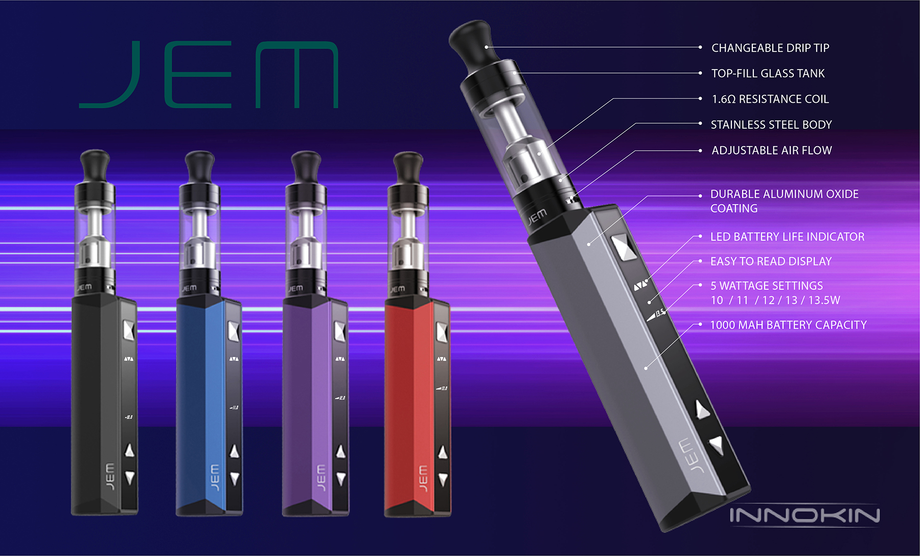 Innokin JEM/Goby Starter Kit Features 1