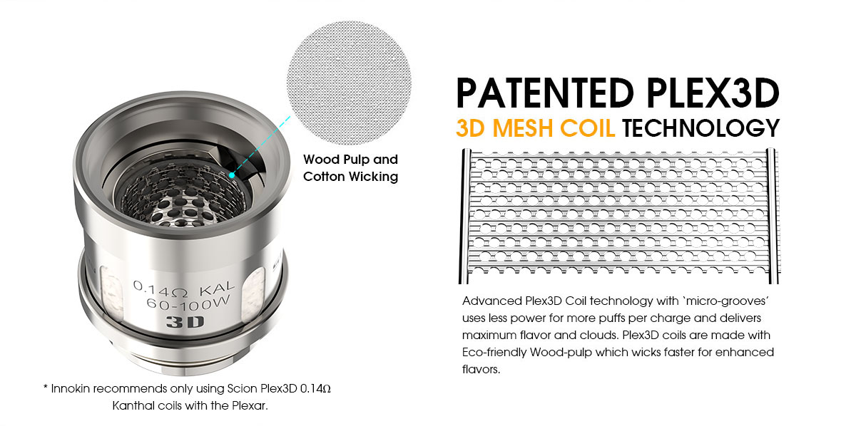 Innokin Plexar Coil Features 1