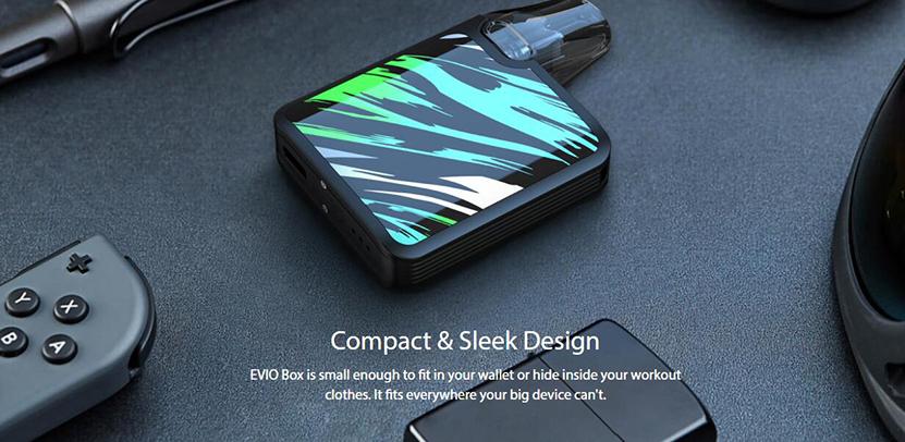 Joyetech EVIO Box Kit Compact and Sleek Design