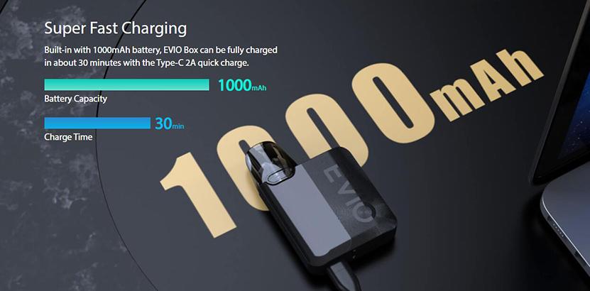 Joyetech EVIO Box Kit Fast Charging