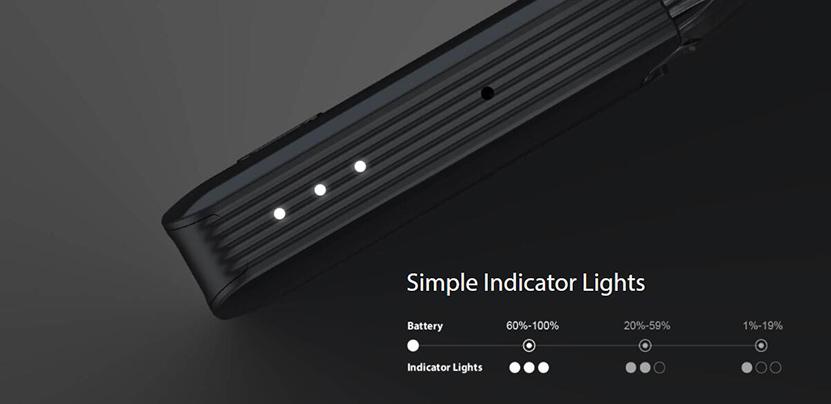 Joyetech EVIO Box Kit Indicator Lights