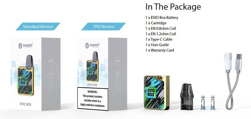 Joyetech EVIO Box Kit Package