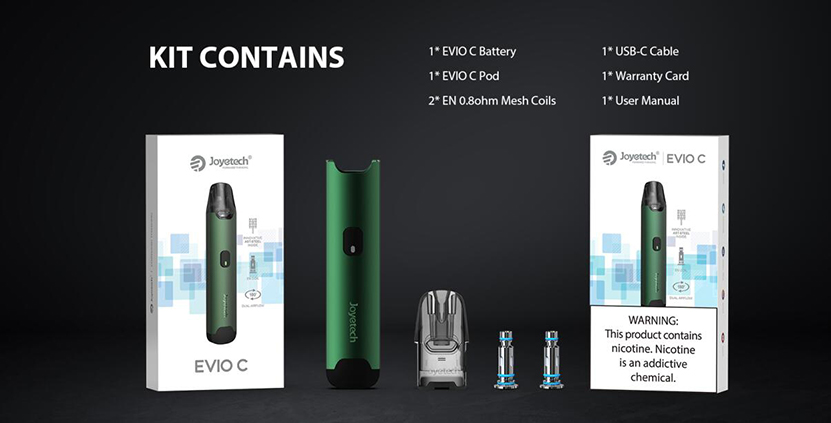 Joyetech EVIO C Kit Package