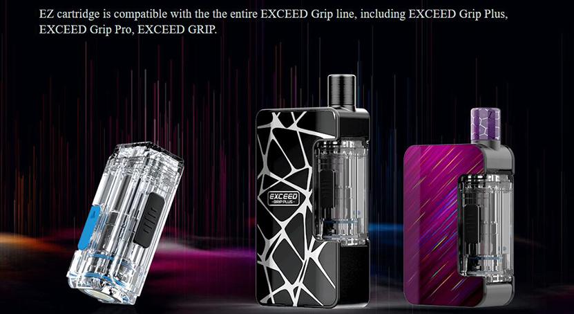 Exceed Grip Plus Kit Pod Cartridge
