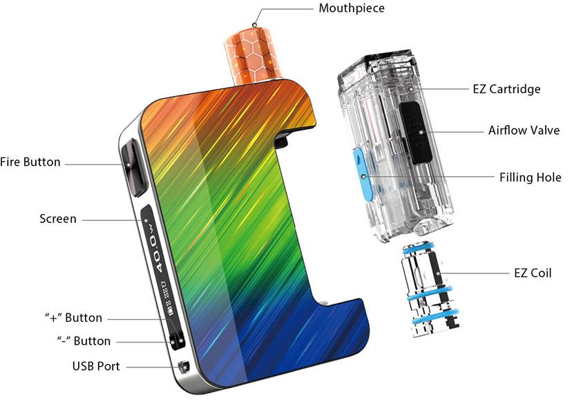Joyetech Exceed Grip Plus Pod Mod Kit Overview