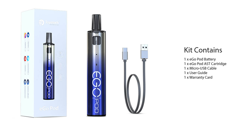 Joyetech eGo Pod AST Version Kit package