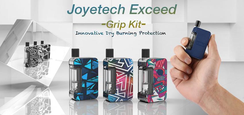 Joyetech Exceed Grip Kit Banner