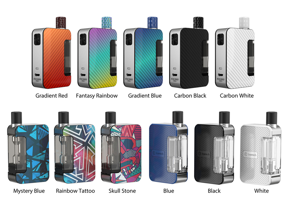 Joyetech Exceed Grip Starter Kit Colors