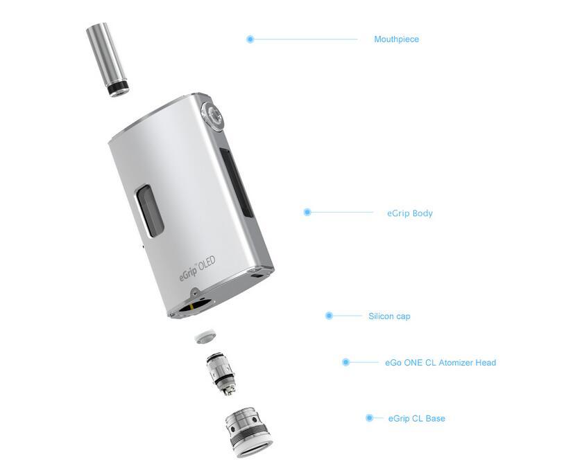 Joyetech eGrip OLED CL Kit Features 1