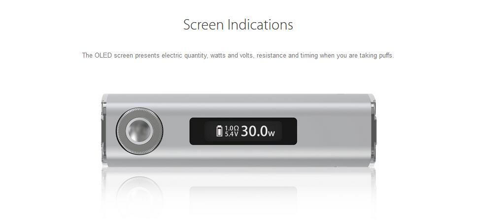 Joyetech eGrip OLED CL Kit Features 2
