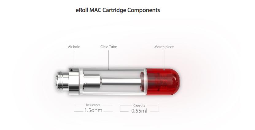 Joyetech eRoll MAC Cartridge Component