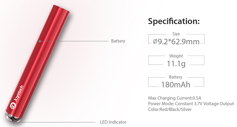 Joyetech eRoll Mac Battery Features 02
