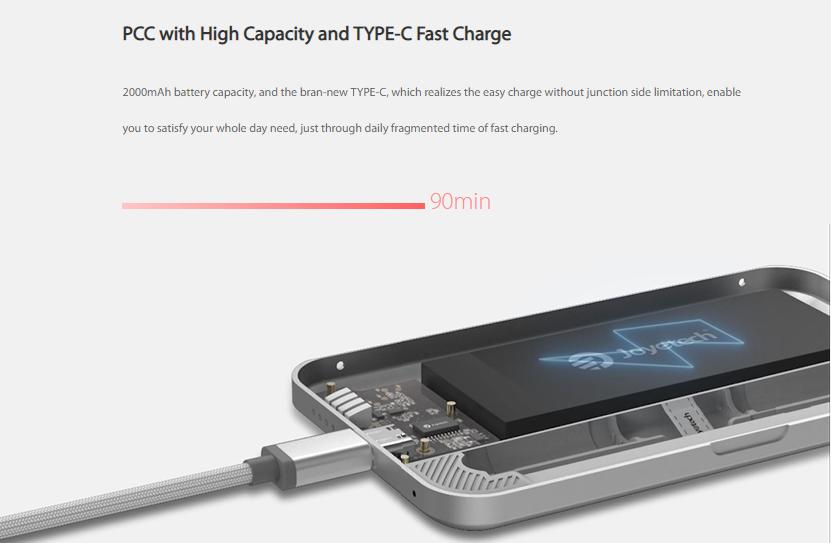 Joyetech eRoll Mac Portable Charging Case Charge