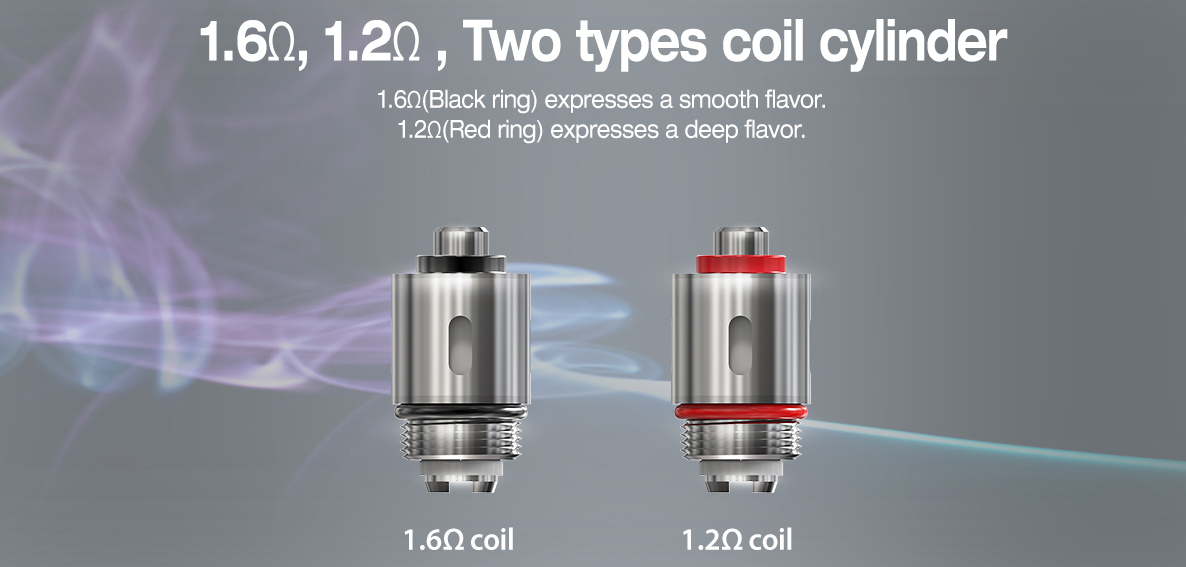 Justfog P16A Clearomizer Features 07