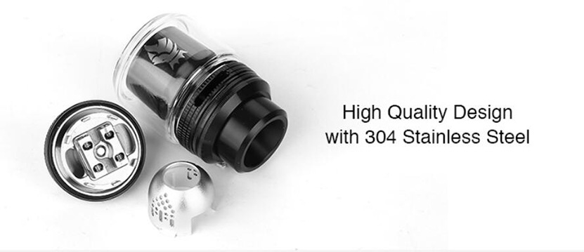 Solomon 3 RTA High quality design with 304 stainless steel