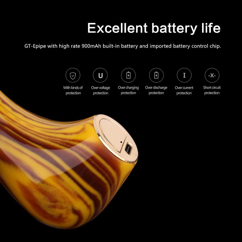 Kamry GT ePipe Kit battery