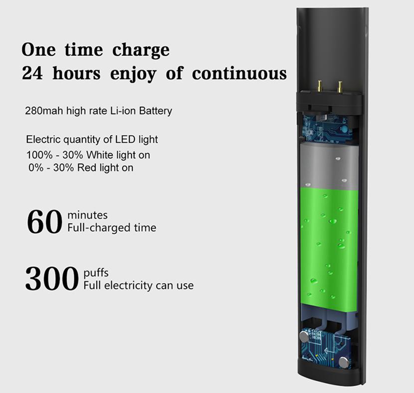 Kamry X Pod Vape Kit 280mAh Battery