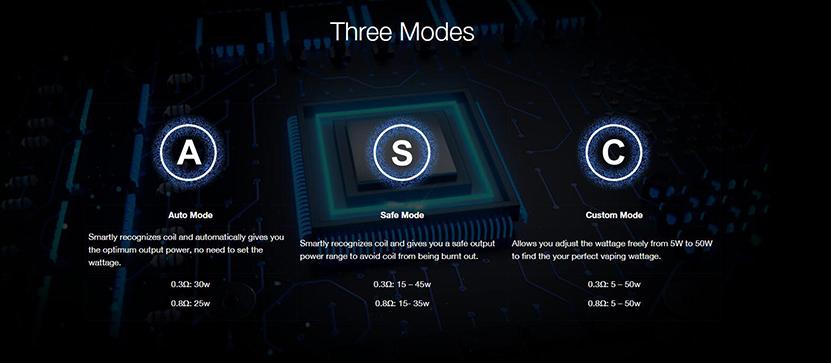 Kanger Ubar Mod Pod Kit 3 Modes