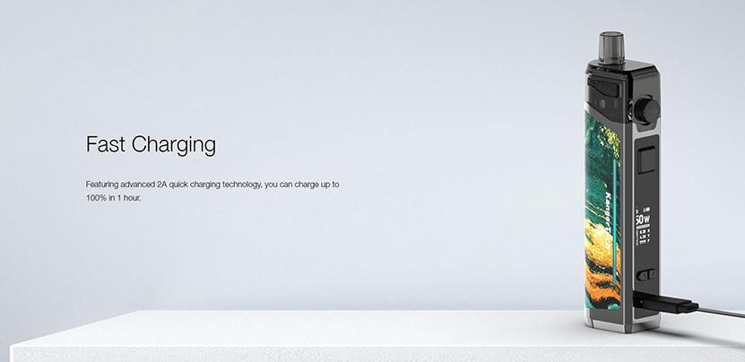 Kanger Ubar Pod Mod Kit Fast Charging