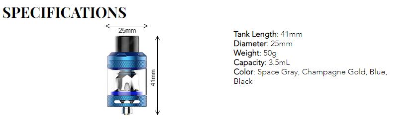 Kanger Ripple Vape Tank Features 1